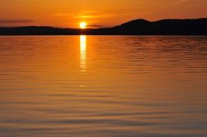 B Glen sunset from Old Settlers Park